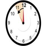 Hora de Inverno: A hora muda na madrugada de domingo.
